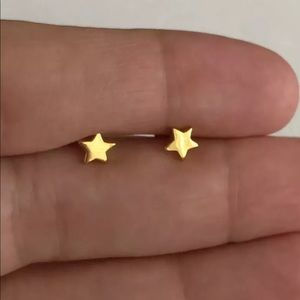 Missoma Star Stud Earrings 18ct Gold Plated